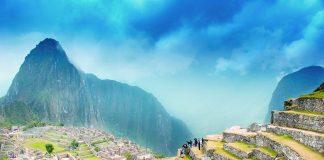 Peru machu picchu mountains