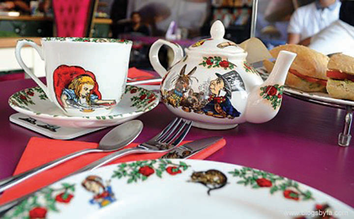 alice and the hatter herne bay afternoon tea