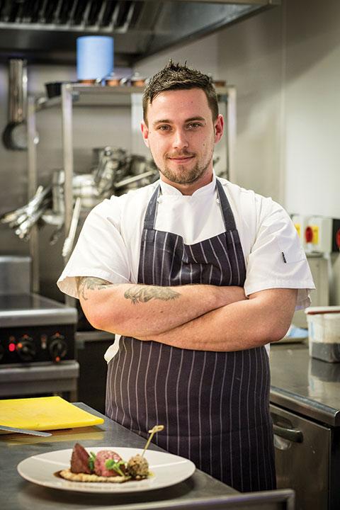Head chef Ricky