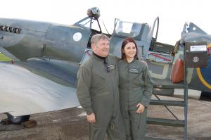 Spitfire flight rasa